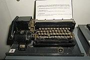 Клавиатура комплекса устройств для быстродействующей телеграфной радио-связи (КТ-2), обр. 1936 г