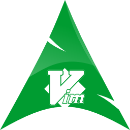 arch vim logo