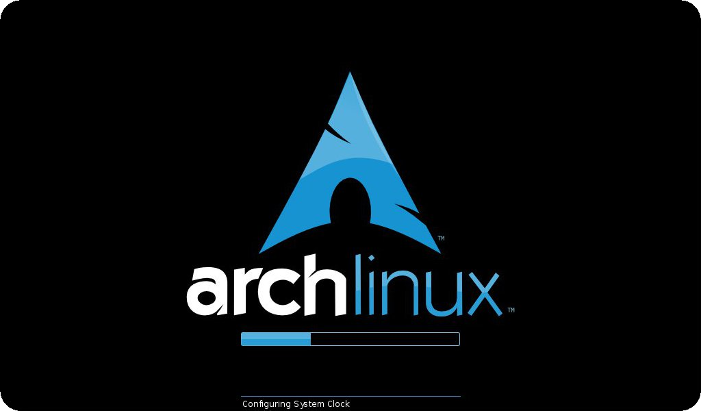 ArchLinux bootsplash — fbsplash
